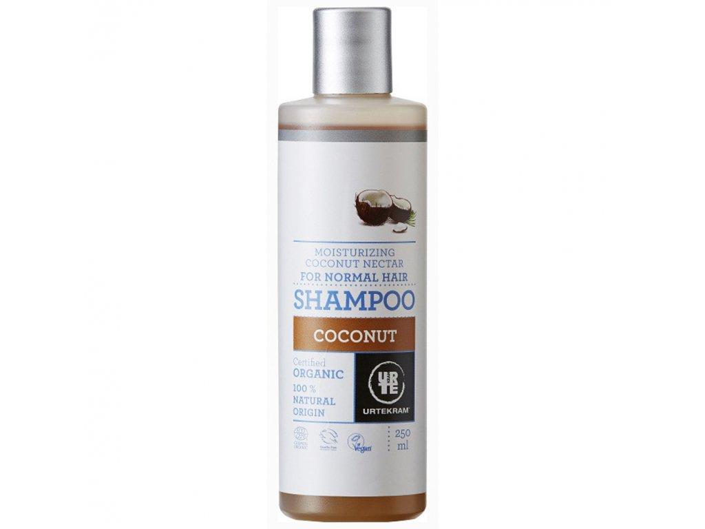 URTEKRAM, Šampon kokosový 250ml BIO, VEG