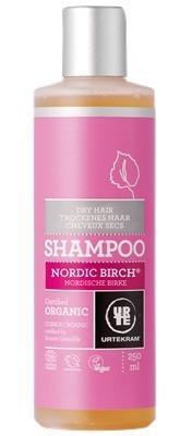 URTEKRAM, Šampón severská breza na suché vlasy 250ml BIO, VEG
