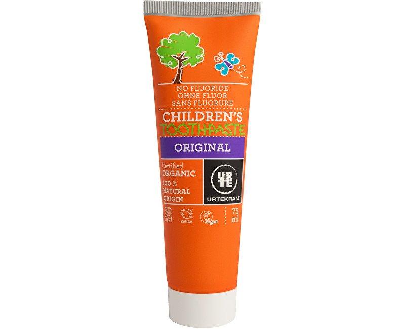 URTEKRAM, Zubná pasta detská 75 ml BIO, VEG