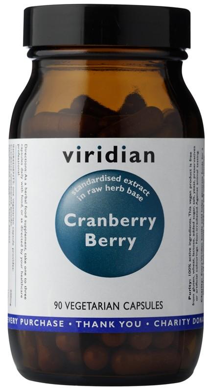 Viridian Cranberry Berry 90 kapsúl (extrakt z brusníc)