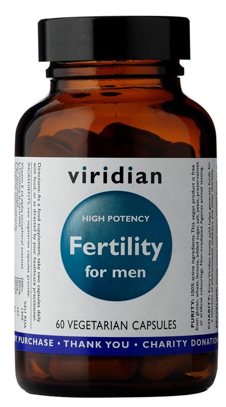 Viridian Fertility for Men 60 kapsúl (potencia)