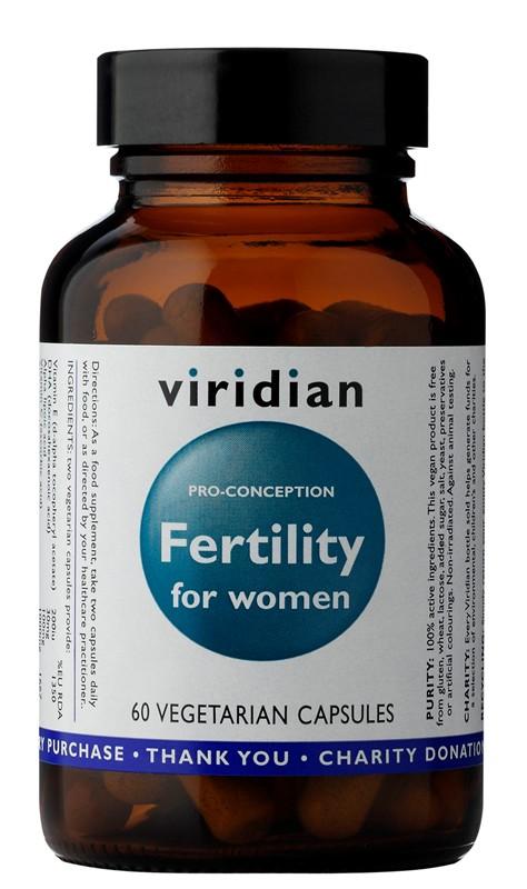Viridian Fertility for Women 60 kapsúl