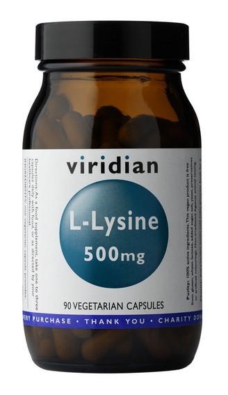 Viridian L-Lysine 90 kapslí