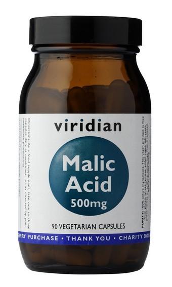 Viridian Malic Acid 90 kapslí (kyselina jablečná)