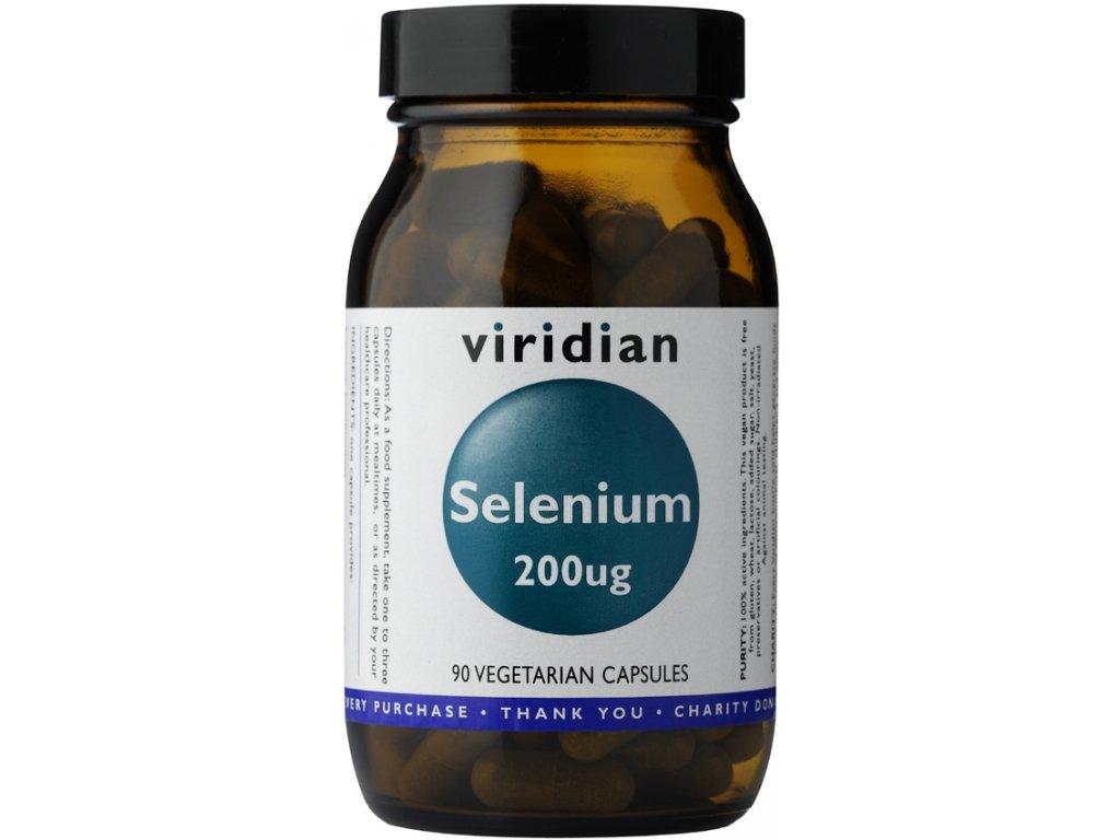 Viridian Selenium 200µg - 90 kapslí