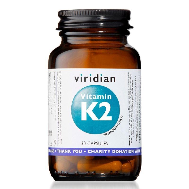 Viridian Vitamin K2 30 kapslí