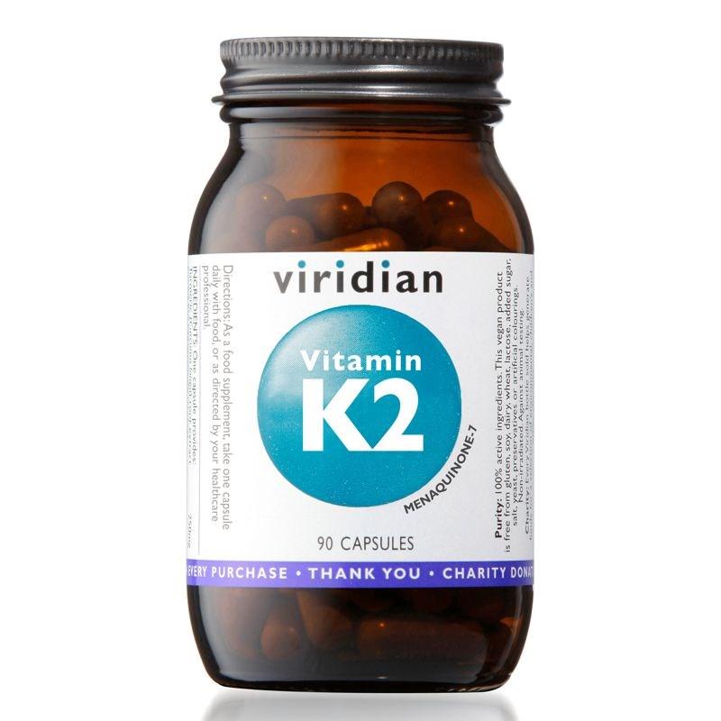 Viridian Vitamin K2 90 kapslí