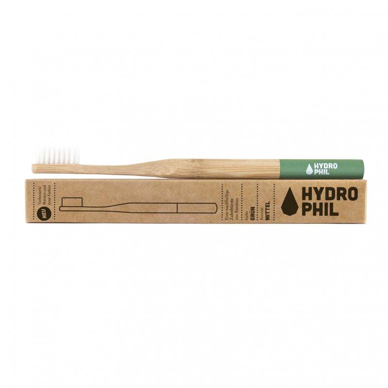Hydrophil bambusová kefka (medium) - zelená