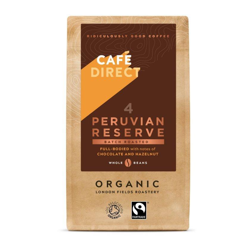 Cafédirect - BIO Peru Reserve zrnková káva, 227 g
