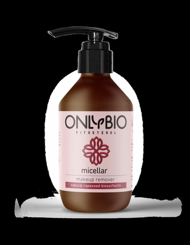 OnlyBio - Micelární odstraňovač make-upu , 250ml
