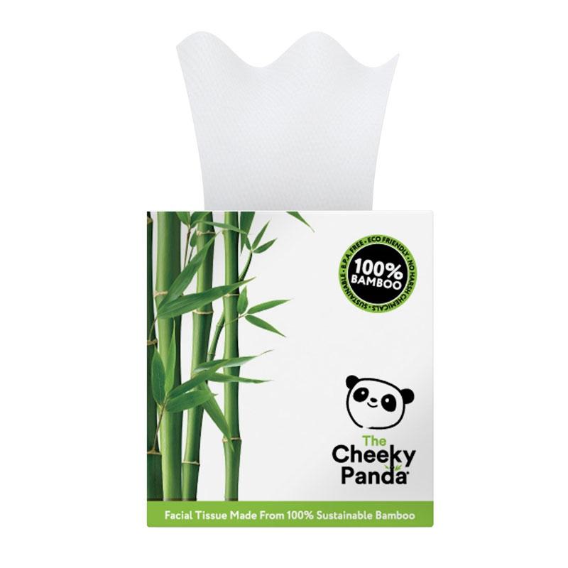Cheeky Panda kozmetické obrúsky 3-vrstvové, 56 ks