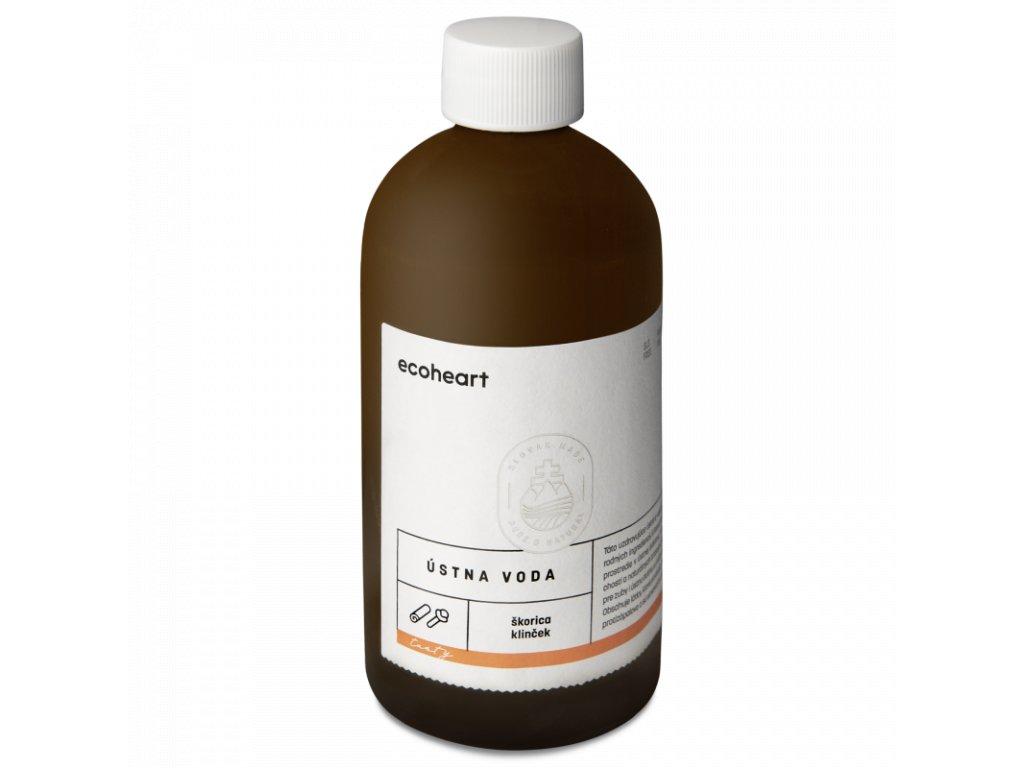 EcoHearth Ecoheart ústna voda Tasty (škorica a klinček), 300 ml