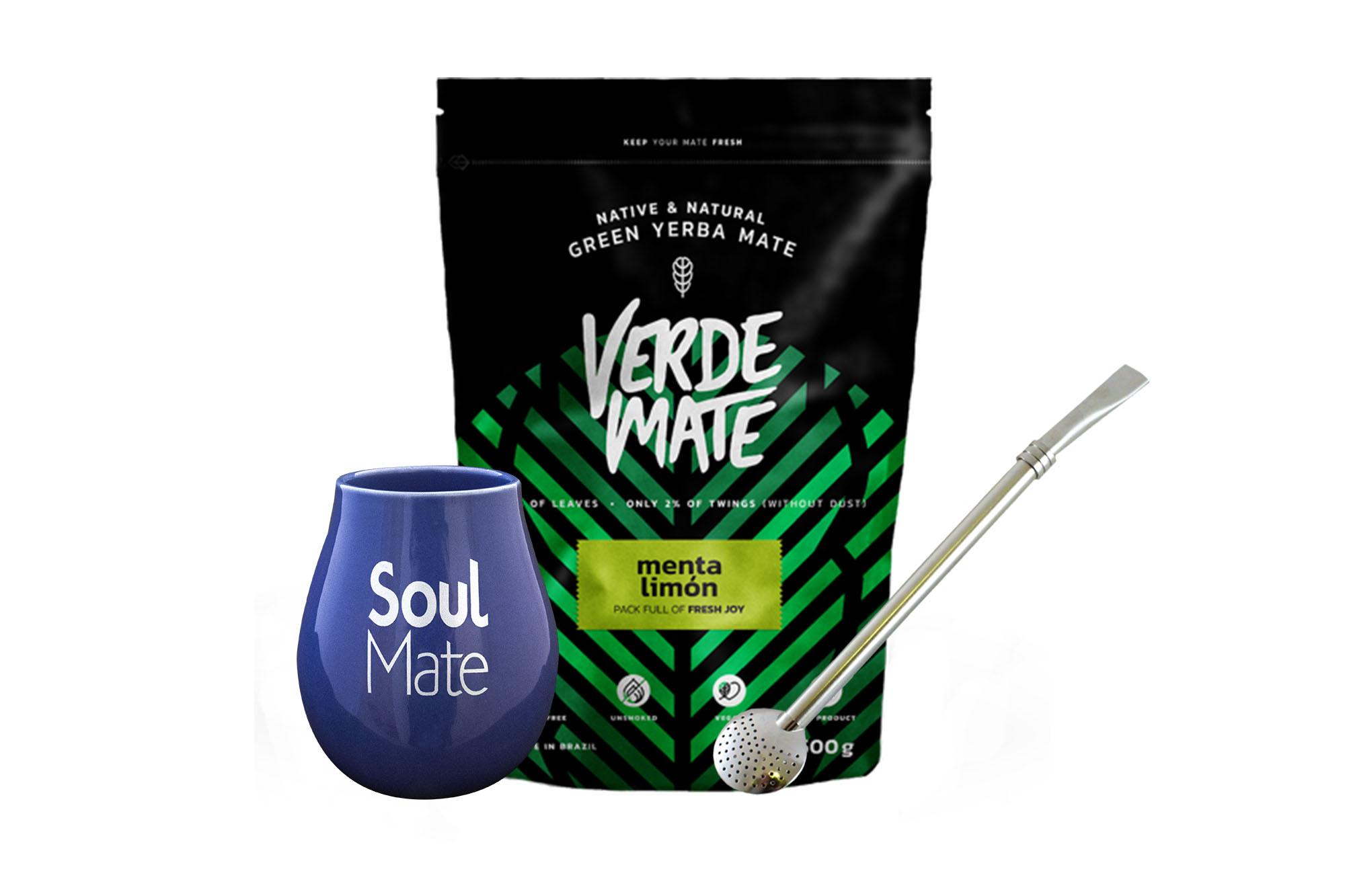 Verde Mate Yerba Fresh Limon Pack (dárková sada)
