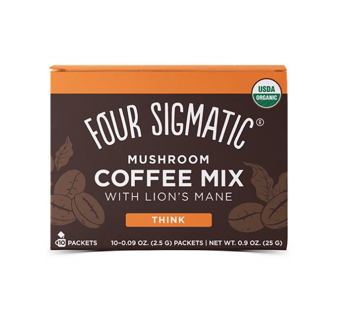 Four Sigmatic Lion's Mane Mushroom Coffee mix Množstvo: 10 sáčkov