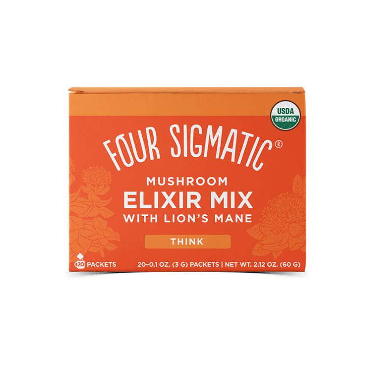 Four Sigmatic Lion's Mane Mushroom Elixir Mix Množstvo: 1 sáčok