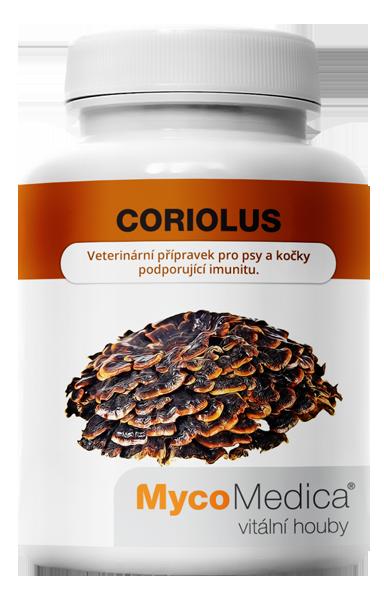 MycoMedica - Coriolus v optimální koncentraci, 90 rostlinných kapslí