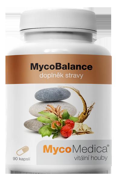 MycoMedica - MycoBalance v optimálním složení, 90 rostlinných kapslí