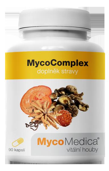 MycoMedica - MycoComplex v optimální koncentraci, 90 rostlinných kapslí
