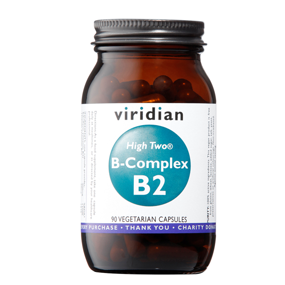 Viridian B-Complex B2 High Two® 90kapslí