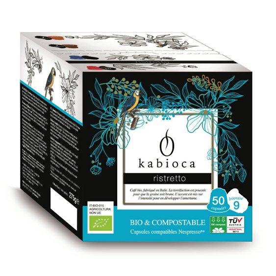 Cafédirect BIO kompostovateľné kávové kapsule pre Nespresso Ristretto, 50 ks