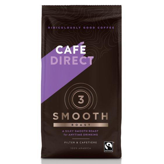 Cafédirect - Arabika Smooth mletá káva s tóny mléčné čokolády 227g