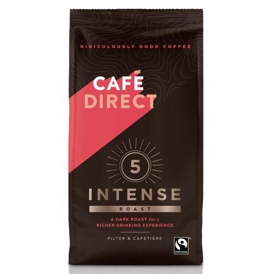 Cafédirect - Intense mletá káva s tóny kakaa 227g