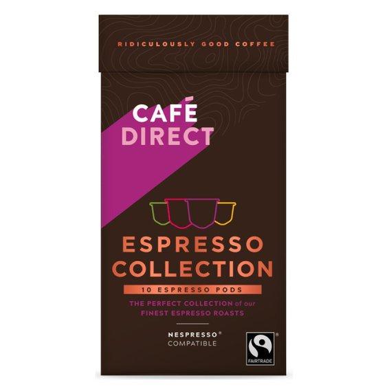 Cafédirect - Selekce Espresso kávových kapslí 10ks pro Nespresso