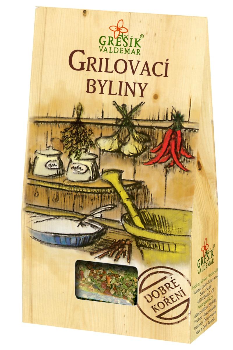 GREŠÍK VALDEMAR Dobré koření - Grilovací byliny, 40g
