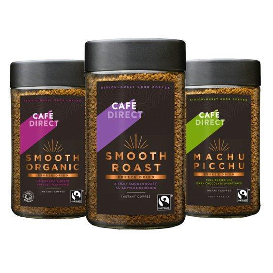 Cafédirect - výhodný balíček mrazom sušenej instantnej kávy