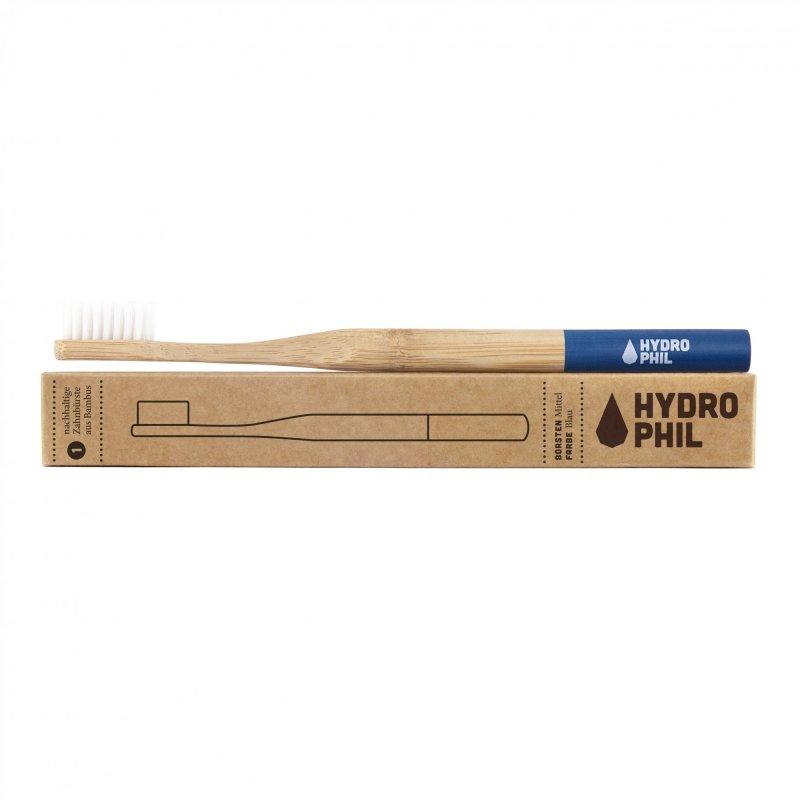 Hydrophil bambusová kefka pre deti (soft) - modrá