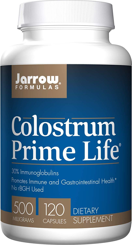 Jarrow Formulas Jarrow Colostrum (kolostrum) 500 mg, 120 rastlinných kapsúl