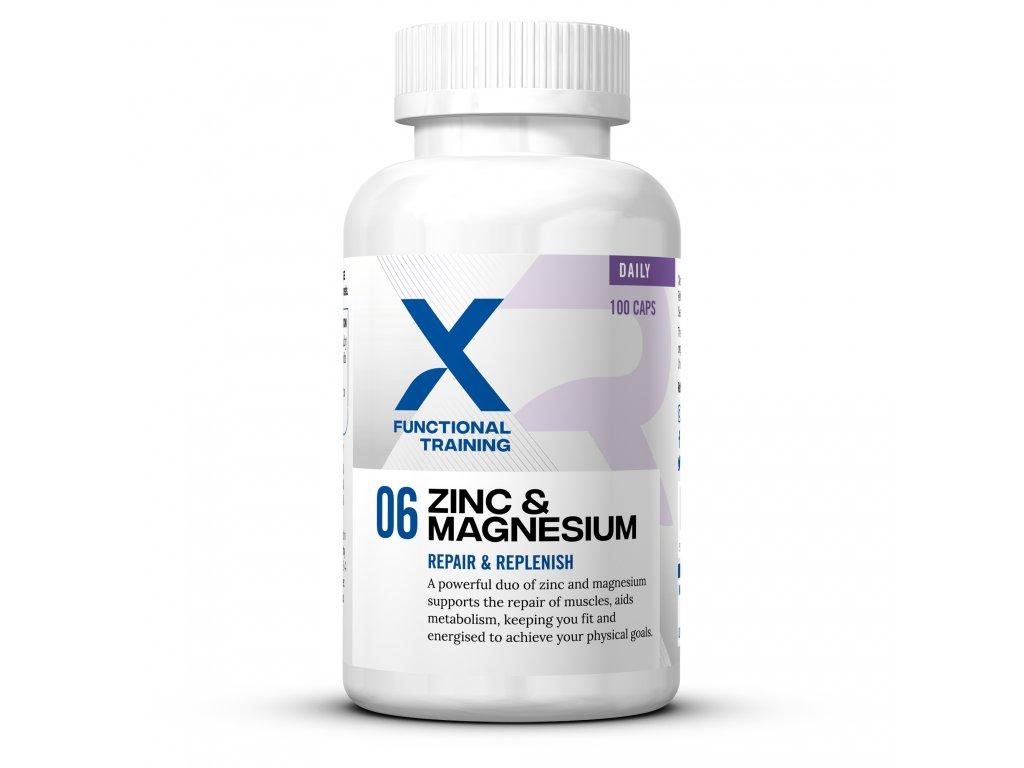 Reflex X Functional Zinc & Magnesium, 100 kapslí