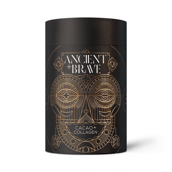 Ancient+Brave Ancient + Brave - Cacao + Grass Fed Collagen, 250 g