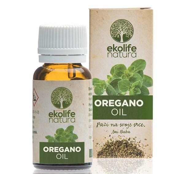 Ekolife Natura - Oil of Origanum 10ml (Esenciální olej z Oregána)