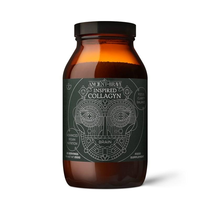 Ancient+Brave - Inspired Brain Collagyn® (Směs pro tvorbu kolagenu - Mozek), 250g