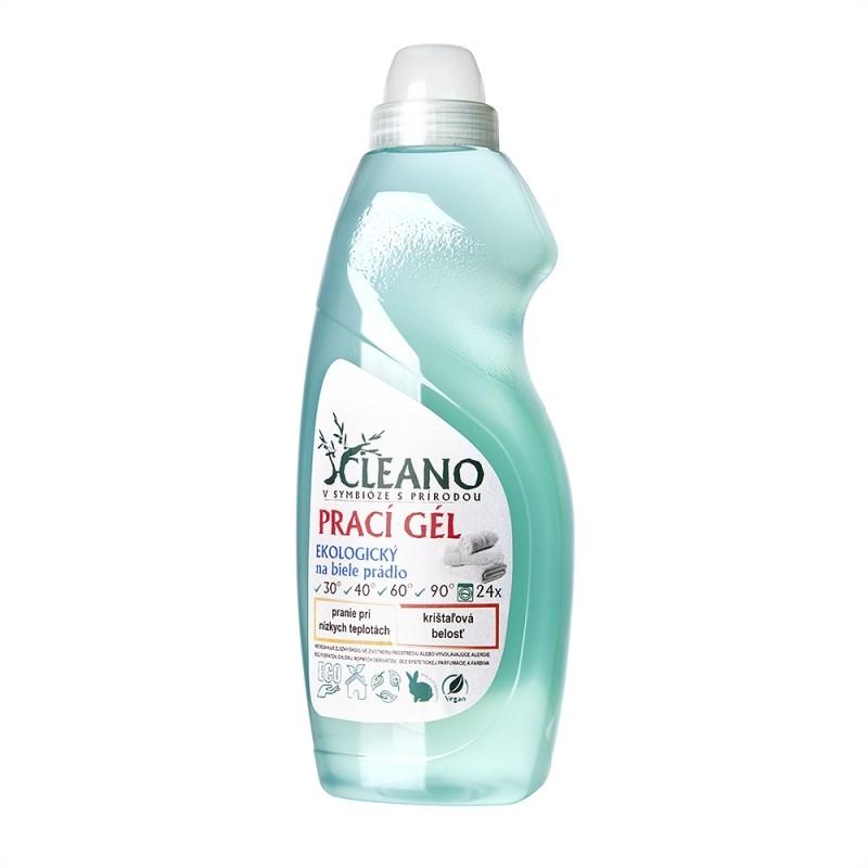 Soaphoria - CLEANO Ekologický prací gel pro žářivě bílé prádlo, 1,5l