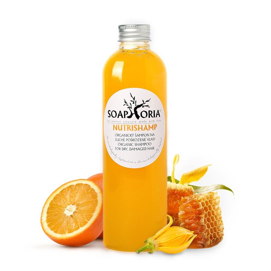 Soaphoria Přírodní tekutý šampon - NutriShamp, 250ml