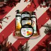 22904 balicek organic shop pece o telo 2x sprch gel peeling sul do koupele telovy krem