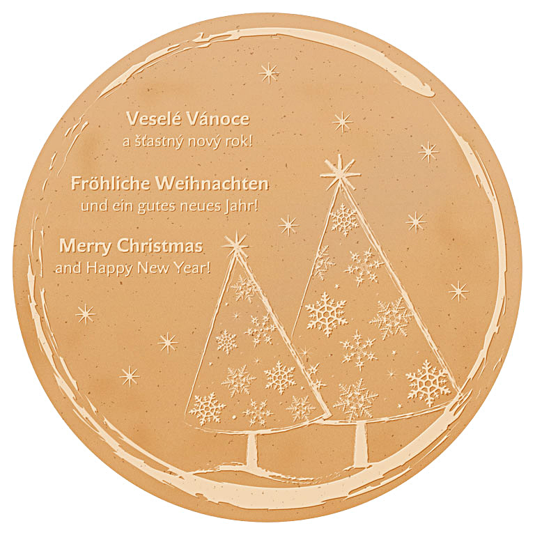 branded-wafer-christmas-trees