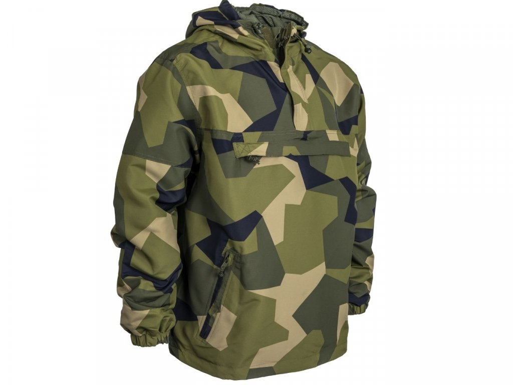 BRANDIT BUNDA Summer Windbreaker swedisch camo M90