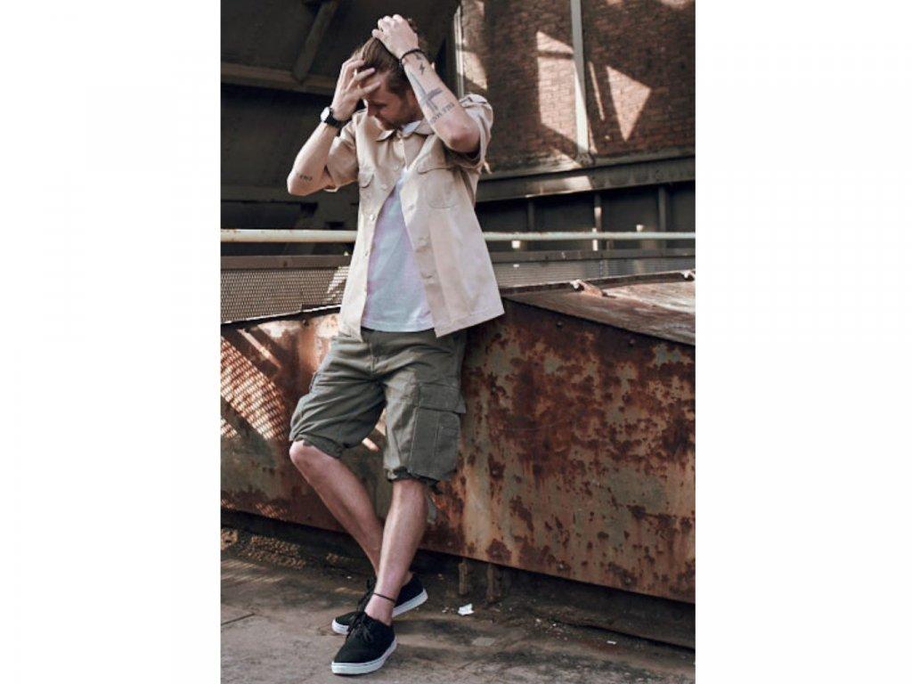 BRANDIT KRAŤASY Vintage  Shorts Olivové