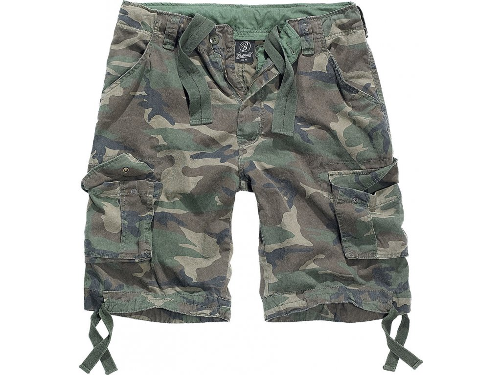 BRANDIT KRAŤASY Urban Legend Shorts Woodland