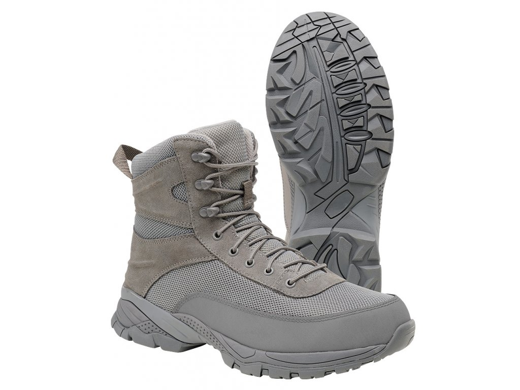 BRANDIT BOTY Tactical Boot Next Generation Šedé