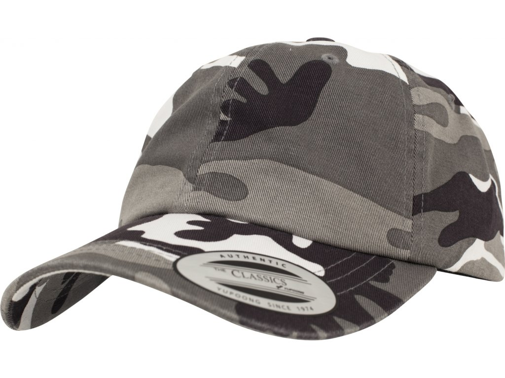 BRANDIT KŠILTOVKA Low Profile Camo Washed Cap Urban