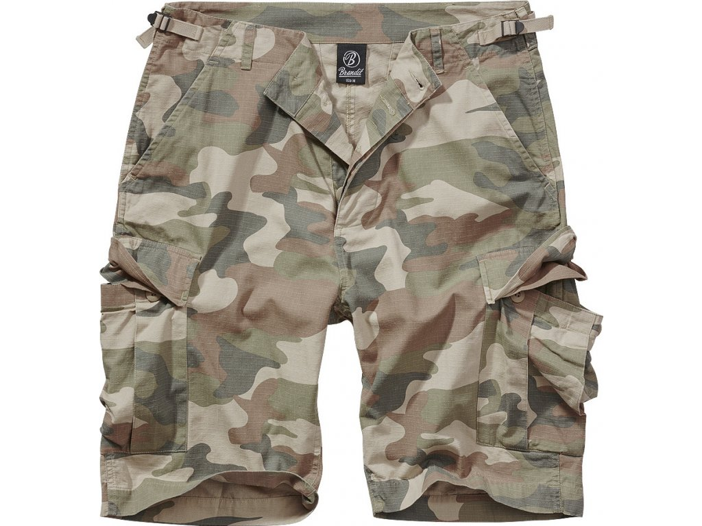 BRANDIT KRAŤASY BDU Ripstop Shorts Light woodland