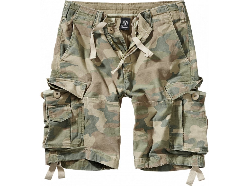 BRANDIT KRAŤASY Vintage Shorts Light Woodland
