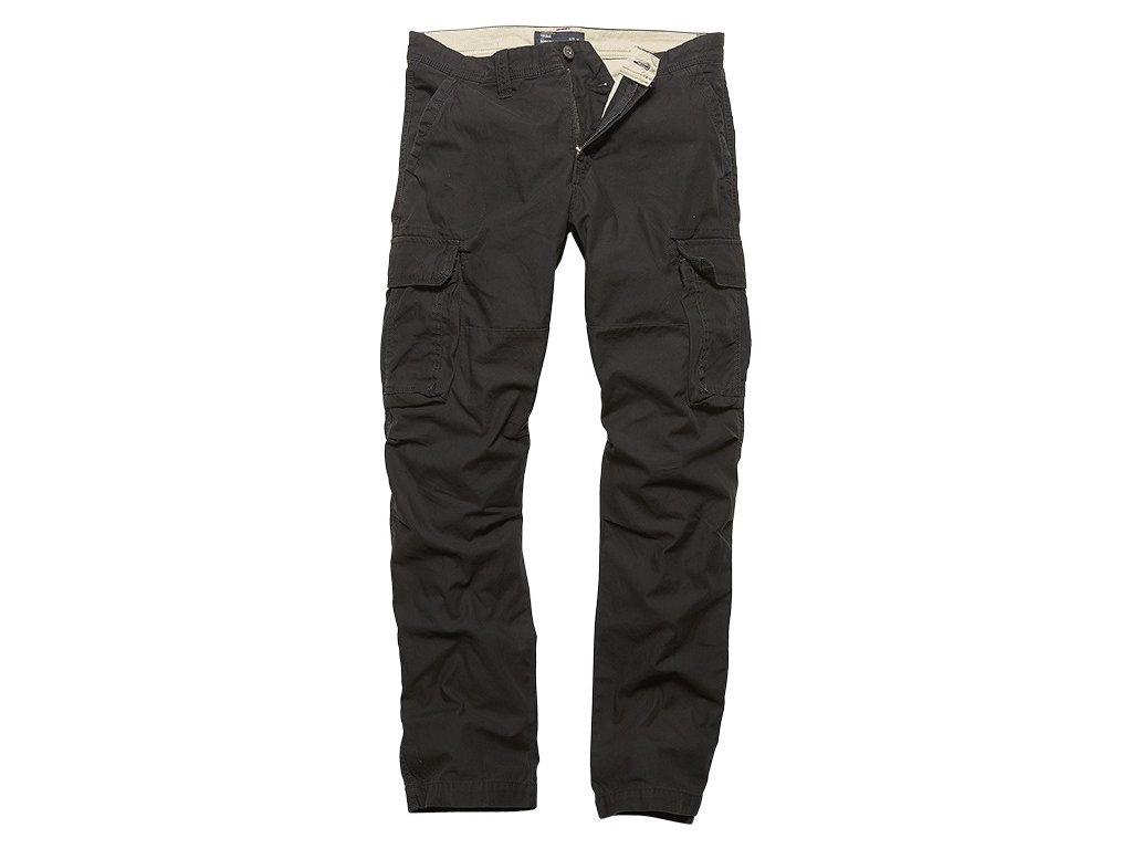 Vintage Industries KALHOTY Reef pants černé