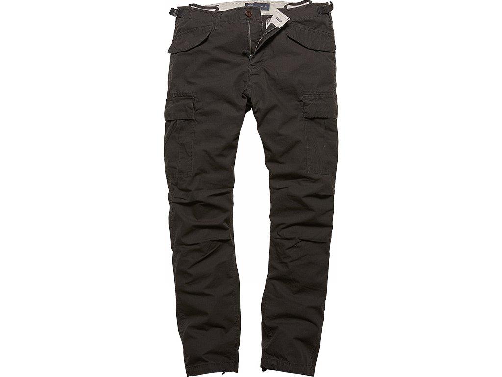Vintage Industries KALHOTY Miller M65 pants černé