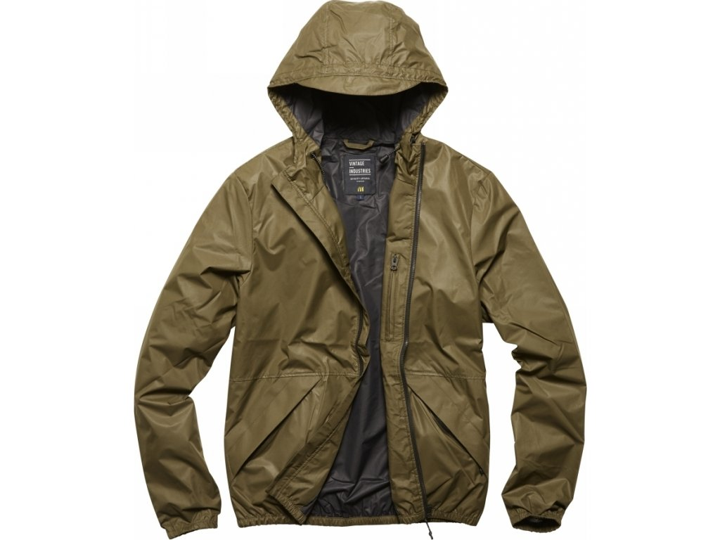 Vintage Industries BUNDA Dune jacket olivová