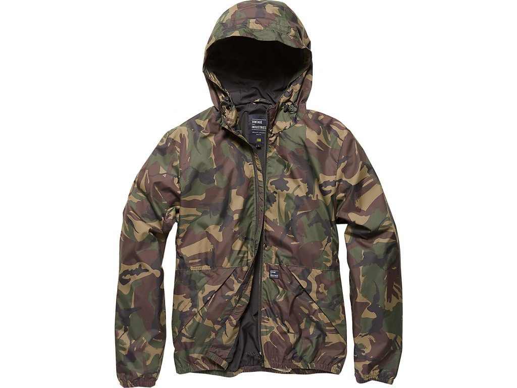 Vintage Industries BUNDA Dune jacket camo